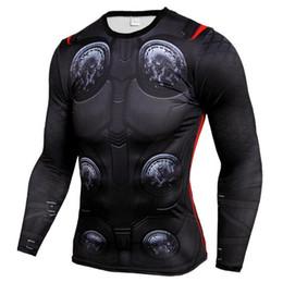 Jerseys Wolf Australia - Mens Compression Shirts 3D Teen Wolf Jerseys Long Sleeve T Shirt Fitness Men Lycra MMA Crossfit T-Shirts Tights Brand Clothing C12