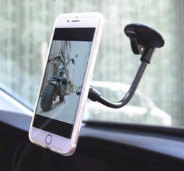 Hands Free Phone Holder Australia - Windshield Magnetic Car Phone Holder Strong Stand Mount Magnet Car Free Hand Display Rotatable Car Holder Accessories