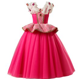 Wholesale performance tutu kids for sale - Group buy Baby girls princess ball gown red color children party skirts kids boutiques halloween christmas tutu skirts