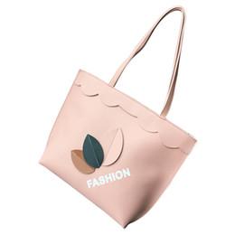 Big Ladies Handbags Australia - High Quality Ladies Casual Shoulder Bag Big Capacity Popular Fashion Autumn Winter Leaves Printing Handbag good quality Women Bag