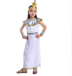 Discount cosplay cleopatra Girls Elegant Cleopatra The Leader Of Ancient Empire One of Egypt Most Famous Pharaoh Historical Halloween Cosplay Costu