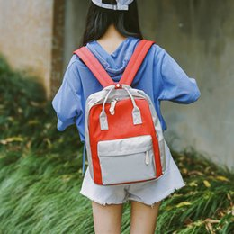 $enCountryForm.capitalKeyWord NZ - Fashion Women Girl Students Canvas Shoulder Bag School Bag Travel Tote Backpack for Girls Student Casual Daypack#30
