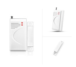 gsm home security systems Australia - Additional ! Wireless Door Windows Alarm Sensor For Home Security Burglar GSM Alarm System 433MHz