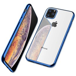 $enCountryForm.capitalKeyWord Australia - For iPhone 11 Pro Max 11 Pro Case Ultra Slim Thin Clear Soft Premium Flexible Chrome Bumper Transparent TPU Back Plate Cover