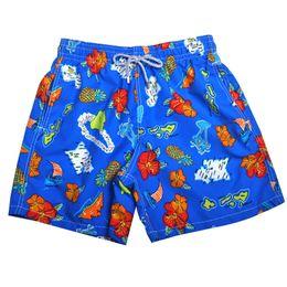 China Flower shorts Brand Designers Beach Shorts Men Boy Underwear Multicolor Sea Turtle Printed Vilebre Men's Surf Swimming Board Shorts suppliers