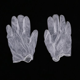 Products Safety Australia - Powder less vinyl disposable gloves PVC gloves transparent oil-proof cosmetic food processing labor insurance products wholesale