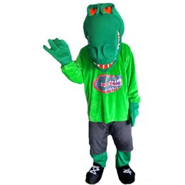 $enCountryForm.capitalKeyWord UK - New high quality Green muscle croco Mascot costumes for adults circus christmas Halloween Outfit Fancy Dress Suit Free Shipping