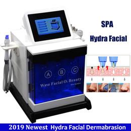Wholesale Hydra Treatment Skin Peeling Machine Bipolar Multipolar Rf Ultrasonic Oxygen skin care Hydra Dermabrasion Hydro Facial Machines
