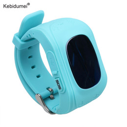 gps location finder Australia - Kebidumei Smart Phone GPS Watch Q50 Kids Watches GPS Tracker SOS Call Location Finder Locator Tracker Anti Lost Smartwatch