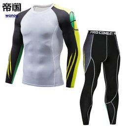 $enCountryForm.capitalKeyWord Canada - Sportswear Tracksuit Men NEW Top Pants Fitness Sports Running Yoga Gym High Elastic Quick Dry Breathable Bodysuit