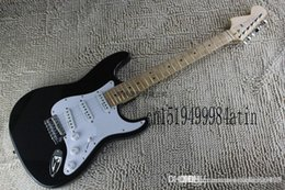 electric st guitar body 2020 - Free Shipping 2014 Top Quality Factory Guitar F ST Custom Body black Body Electric Guitar In Stock cheap electric st gui