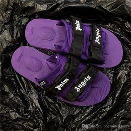 Ingrosso 2018 Europa moda sandali mensstriped causale antiscivolo estate Huaraches pantofole infradito palma angeli pantofole suicoke libera la nave 999 n59