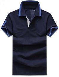 $enCountryForm.capitalKeyWord Australia - Buy 2019 Solid Men Casual Polo Shirts Big Pony Embroidery Short Sleeve Business Polos Cotton Polo Shirt Leisure Tees M-XXL