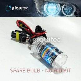 motorcycle hid bulbs UK - 1pcs ballast+1pcs bulb for motorcycle kit hid xenon kit 35W H1 H3 H4 H7 H9 H10 H11 H13 9004 9005 9006 GLOWTEC+free gift