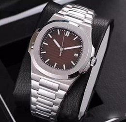 Ship Free Mens Wrist Watches Australia - Free Shipping Exp Series 16570 Hottest Black Dial Mens Sport Wrist Watch Men Stainless Steel Folding Clasp Stainless Steel Men Watches