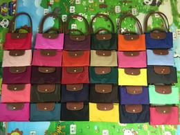 Pink Nylon Tote Bag Australia - Classic Fashion Brand Designer Waterproof Womens Nylon Handbags Long handle Women's Shoulder Bags Casual Totes shopping bag