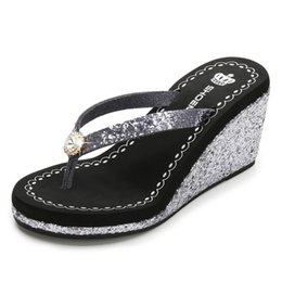 $enCountryForm.capitalKeyWord NZ - Summer Women's slippers Women Fashion Sandals Peep-Toe Shoes Woman High-Heeled Platfroms Casual Wedges Women High Heels Shoes