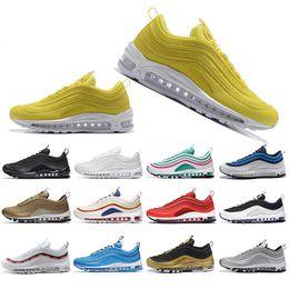 Shoes For Cheap Australia - Cheap New Kaleidoscope SEOUL London Summer of love Running Shoes For Men Women Mustard SE Mens Trainers Designer Sports Sneakers 36-45