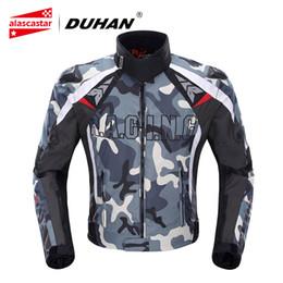 $enCountryForm.capitalKeyWord Australia - DUHAN Men's Oxford Cloth Motocross Off-Road Racing Jacket Guards Clothing Camouflage Motorcycle Alloy Shoulder Protector Jacket