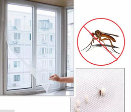 $enCountryForm.capitalKeyWord NZ - 2M*1.5M Self-adhesive Anti-mosquito Net DIY Flyscreen Curtain Insect Fly Mosquito Bug Mesh Window Screen Home Supplies