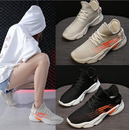 $enCountryForm.capitalKeyWord NZ - 2019 summer new breathable fly knit socks and shoes instagram super hot Korean sports casual casual dad shoes and women