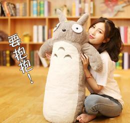 $enCountryForm.capitalKeyWord Australia - Dorimytrader kawaii Japan Anime Totoro Plush Toy Giant Cartoon Totoro Doll Long Pillow for Kids Friend Birthday Gift 39inch 100cm