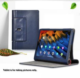 "fashion tablet NZ - Full Protective Case For Lenovo Yoga Smart Tab YT-X705F 10.1""tablet For Lenovo Yoga Tab 5 YT-X705 Book Flip Cover with Stand"