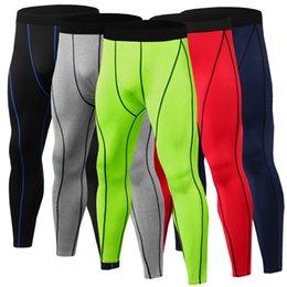 Discount track pro - new 2019 mennk pro combat Athletic skinny compression Basketball training legging run gym track sport tight pants fitnes