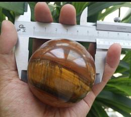 China Crystals Australia - New ++ + 60mm Pretty Natural Tigers Eye Crystal Sphere Ball Healing China