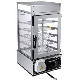 Bun Steamer Australia - WinYe stainless steel bun steamer machine 4 layer food display