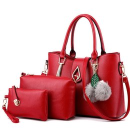 $enCountryForm.capitalKeyWord Australia - new Fashion New fashionable three piece single shoulder handbag with large capacity in 2019 hand bag