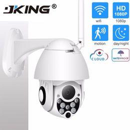 Onvif camera 2mp online shopping - IP Camera WiFi MP P Wireless PTZ Speed Dome CCTV IR Onvif Camera Outdoor Security Surveillance ipCam Camara exterior
