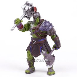 toy robert UK - Thor 3 Ragnarok Hulk Robert Bruce Banner Pvc Action Figure Collectible Model Toy 20cm Y19062901