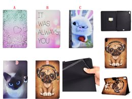 character inch tablet cover NZ - Bling Cartoon Cat Dog Rabbit Wallet Leather Case Stand Pouch For Ipad Pro 11 Inch 2018 tablet Fashion Owl Unicorn Elephant Skin Cover 30pcs