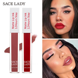 make up nude Australia - SACE LADY 23 Color Matte Lipstick Makeup Long Lasting Liquid Lip Stick Nude Lip Tint Make Up Waterproof Gloss Cosmetic