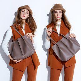 Sheepskin Hand Bag Australia - Women Tote Bag Genuine Sheepskin Patchwork Casual Hand Bags Big Capacity Woman Shoulder Bag Large Ladies Shopping Bags 2019