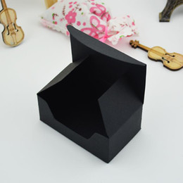 card box kraft NZ - 9.2*5.6*4cm Kraft Paper Box Business Card Packaging Box Jewelry Soap Candy Gift Boxes Black Brown