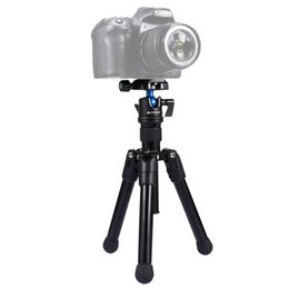 mini ball head for camera NZ - PULUZ Pocket Mini Microspur Photos Magnesium Alloy Tripod Mount with 360 Degree Ball Head for DSLR & Digital Camera, Adjustable Height: 2