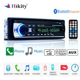 remote control car stereo Australia - Autoradio 12v Jsd-520 Car Radio Bluetooth 1 Din Car Stereo Player Aux-in Mp3 Fm Radio Remote Control For Phone Car Audio