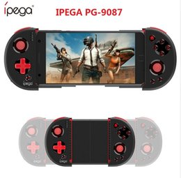 Android Tv Box Gamepad Australia - iPEGA PG-9087 PG 9087 Game Console Extendable Bluetooth Wireless Game Controller Gamepad Joystick For Android Smartphones TV Box Windows