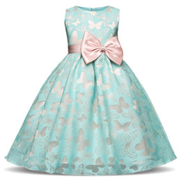 Fancy dress style online shopping - Fancy Butterfly Kids Girl Wedding Flower Girls Dress Princess Party Pageant Formal Dress Prom Little Baby Girl Birthday Dress
