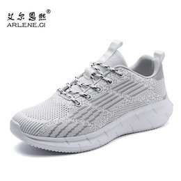 lace tennis shoes Canada - Hot Sale Men Tennis Shoes Male Stability Breathable Sneakers Lace-up Athletic Trainers Outdoor Gym Sport Shoes Tenis Masculino