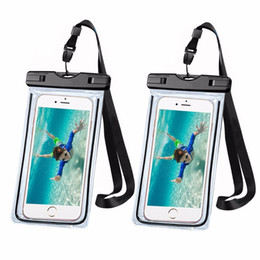 $enCountryForm.capitalKeyWord Australia - fishing gear 2pcs Universal Waterproof Case, Clear Waterproof Mobile Bag with Strap Dry Pouch Cover Keeps Gear for Kayaking, Beach, fishing