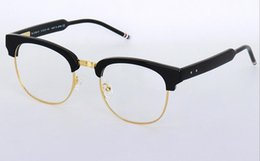 rimless spectacles frames Australia - New Eyeglasses Frames Optical Glasses Frame with Clear Lens Vintage Sunglasses TB-016 TB016 Frames Men Women Spectacle Frames Myopia Eyewear
