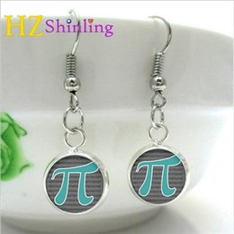 $enCountryForm.capitalKeyWord Australia - 2019 Earrings Math Jewelry Gifts Teachers Science Mathematics Symbol Black and White Art Earring NHE-003