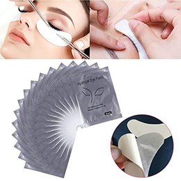 $enCountryForm.capitalKeyWord Australia - 50pcs Pillows For Grafting Eyelashes Extension Wraps Under Eye Lashes Paper Patches Building Pads Lash Stickers