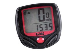 $enCountryForm.capitalKeyWord Australia - Bicycle Speedometer Cycling Computer Digital LCD Computer Bike Speedometer For Bicycle Bike Waterproof Odometer #613264