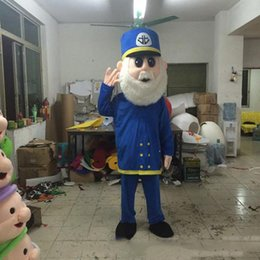 Wholesale bear costume sale online – ideas 2019 Discount factory sale Santa Claus cartoon costume Mascot Costume bear Character Costumes Apparel Adult Size
