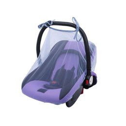 gauze car UK - Baby Crib Seat Mosquito Net Newborn Curtain Car Seat Insect Netting Canopy Cover Chambre Enfant Baby Bed Baby Seat Mosquito Net