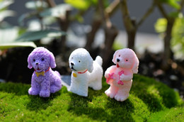 Wholesale lovely cake toppers capsule toys dog decoration gift for birthday